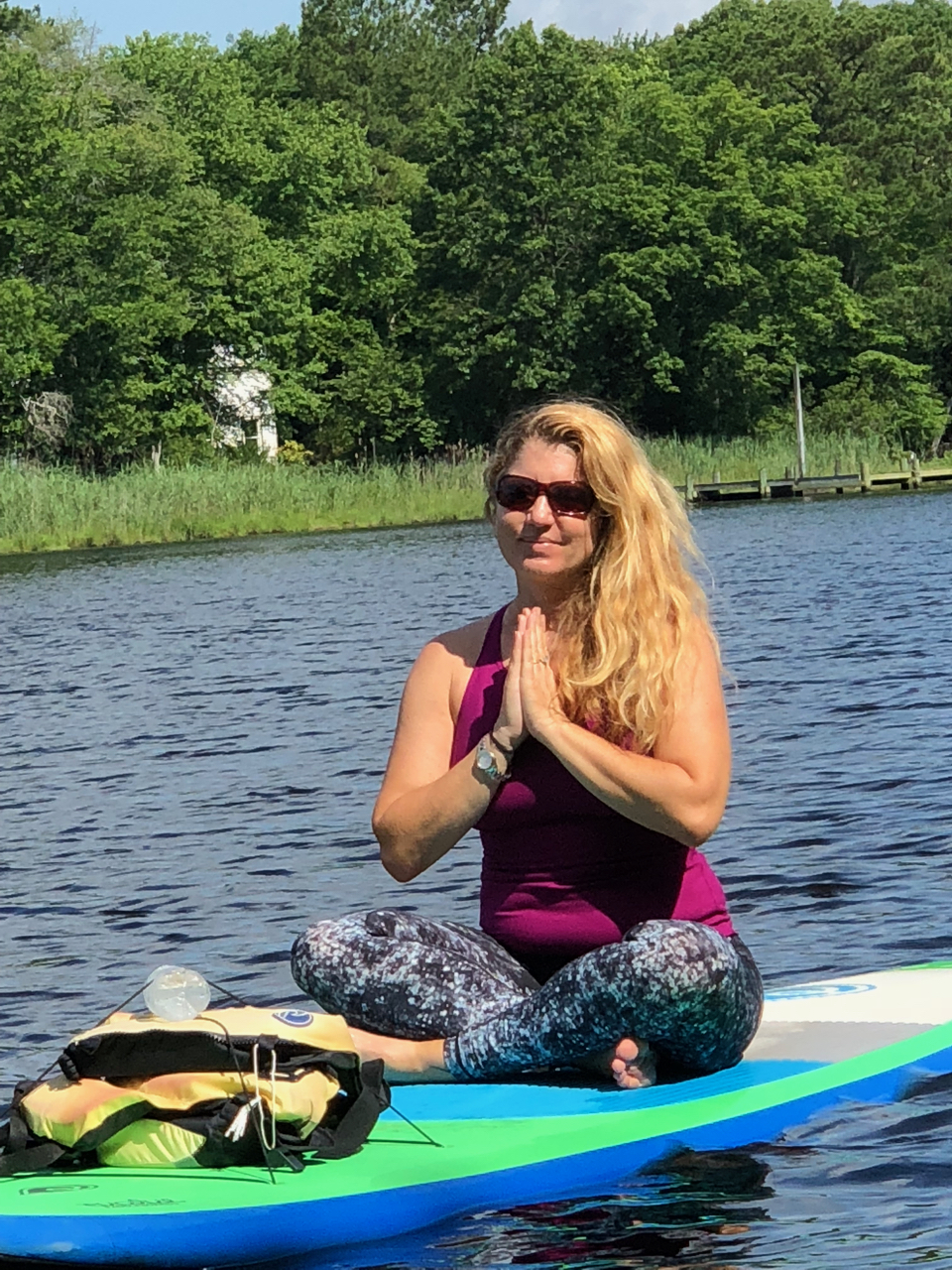 Stand Up Paddle Board SUP Yoga